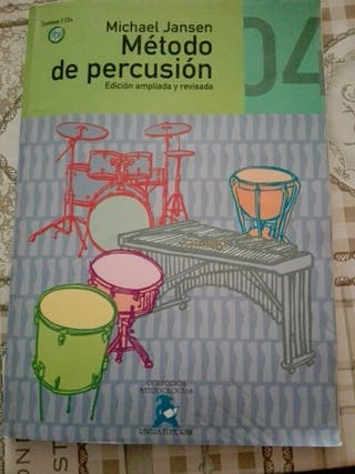 Libro percusión.