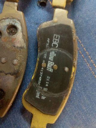 Pastillas de freno ebc 266 mm psa