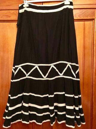 Conjunto Zara mujer negro