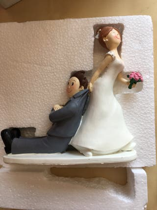 figura novios boda