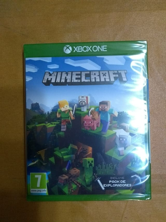 Minecraft Xbox One Explorers pack edition
