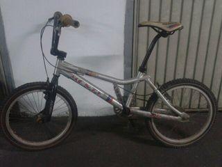 Bicicleta monty de aluminio