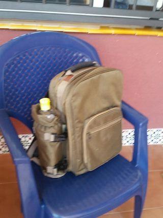 mochila de picnic,y un compartimiento para frio