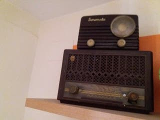 Radios antiguas.