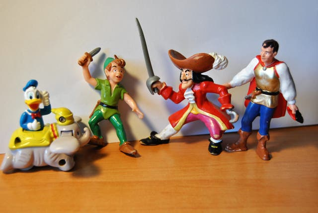 Figuras Goma Pvc Disney