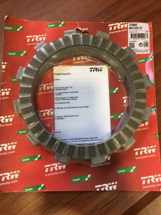 Set 10 discos embrague TRW Yamaha Vmax 1700cc