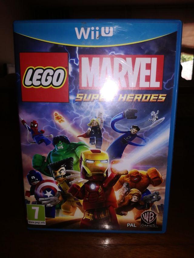 Juego Wii U Lego Marvel Super Heroes De Segunda Mano Por 20 En