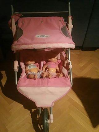 carrito muñecos