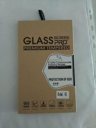 Cristales protectores Redmi 4X