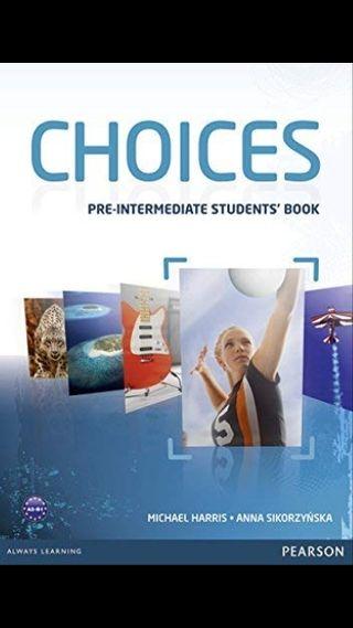libro inglés Choices Pre-intermediate SB