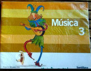 3º PRIMARIA Libro de MUSICA