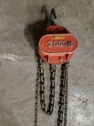POLIPASTO VICINAY 2000 KG