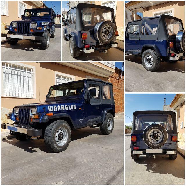 Jeep Wrangler YJ de segunda mano por 11.000 € en Albacete en WALLAPOP