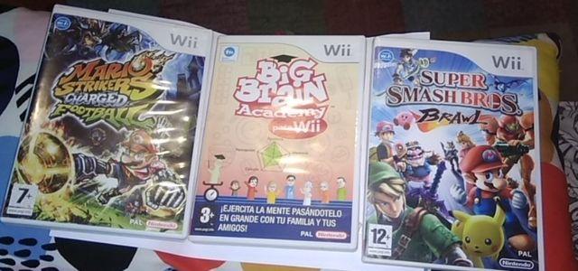 3 Juegos Wii De Segunda Mano Por 32 En Bilbao En Wallapop