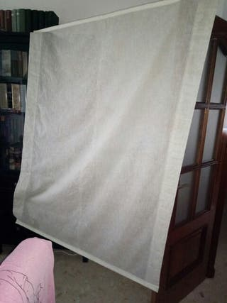2 cortinas stor color beige