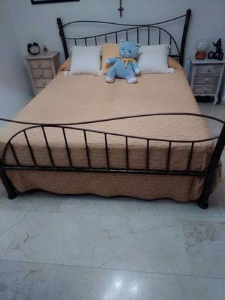 dormitorio de forja incluye colchon