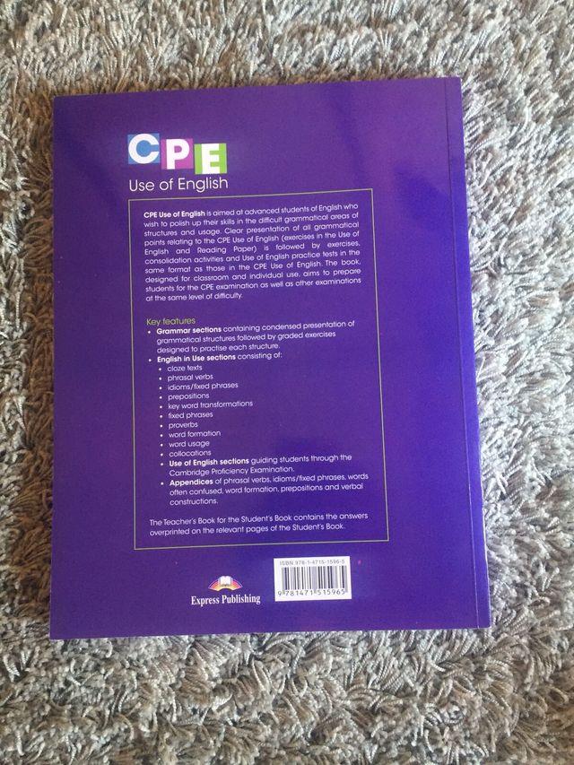 Libro CPE Use of English de segunda mano por 13 € en Las Lomas en