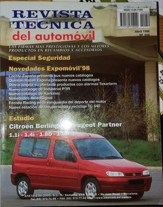 Manual de taller Peugeot partner Citroen berlingo