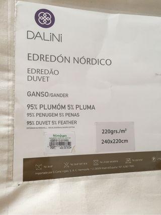 Edredon nordico de segunda mano por 150 € en Málaga   wallapop