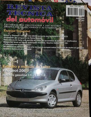 Manual de taller Peugeot 206 en español
