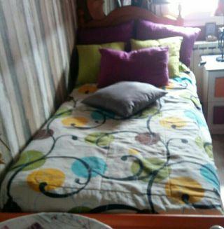 Dos camas y dos colchones