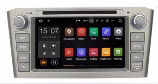 Pantalla GPS Android Toyota Avensis T25