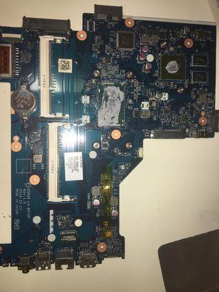 Placa base de portatil rota