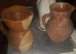 jarras antiguas de barro