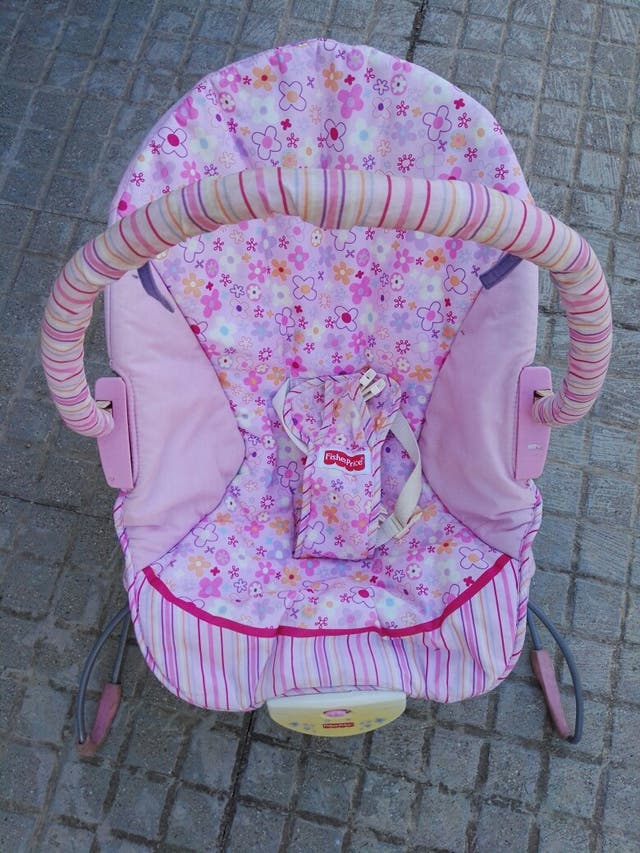 tumbona/ sillita bebé fisherprice