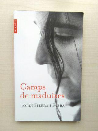 Libro Camps de Maduixes. Jordi Sierra i Fabra.