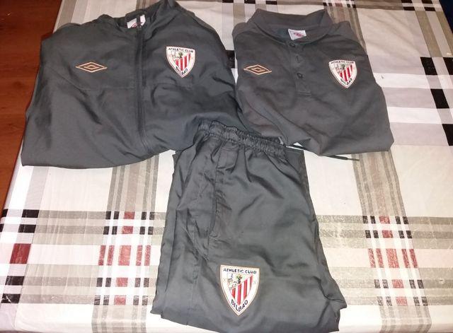 31eeb12664396 Chándal niño Athletic de Bilbao de segunda mano por 25 € en Loeches ...