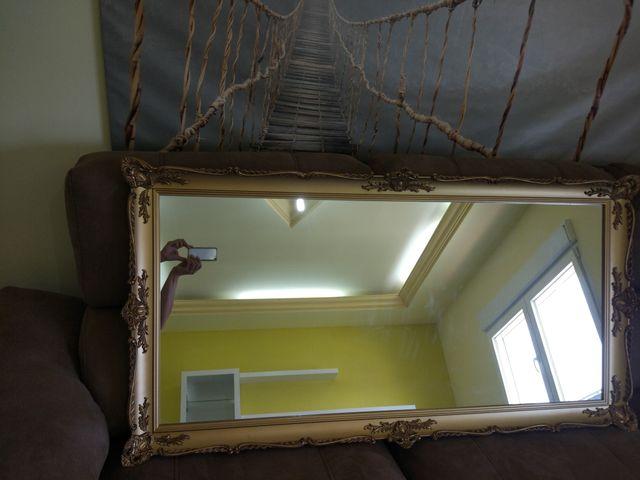 Espejo artesanal dorado para comedor. de segunda mano por 70 € en ...