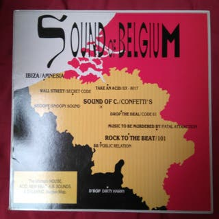 VINILO Sound of Belgium
