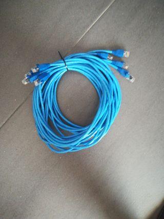 4 x Cables de ethernet 3m
