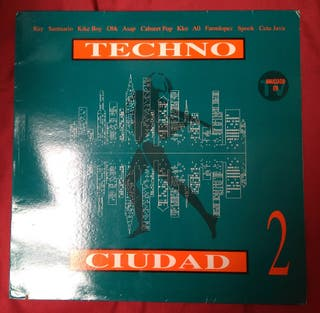 VINILO Techno ciudad 2