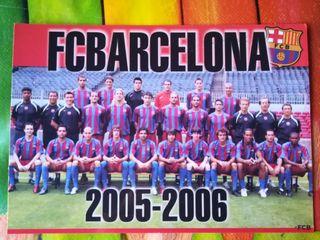 postal del Barcelona