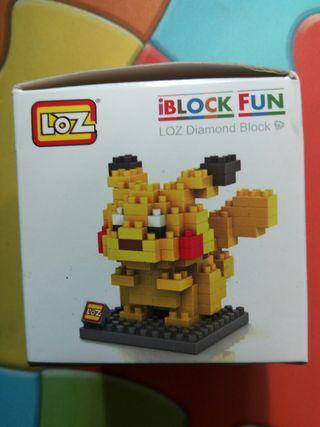 mini blocks pikachu