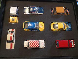 Colección Scalextric Rallyes de España Altaya