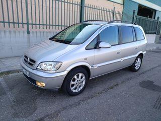 Opel Zafira pocos kms y con garantía muy completa