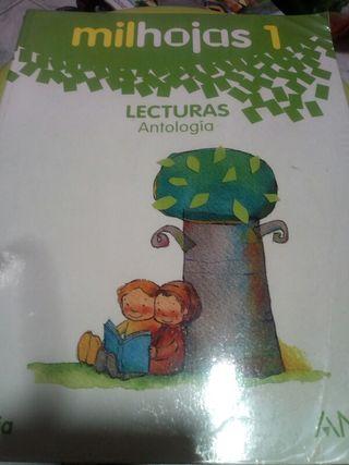 Libro de milhojas 1 primaria Anaya