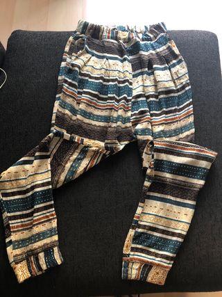 Pantalon verano ancho