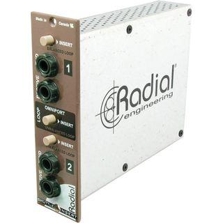 Radial shuttle 500 series modulo insert efectos