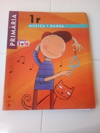 Música i dansa 1r primaria llibre