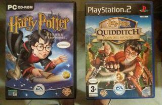 Juegos Harry Potter. PC y PS2