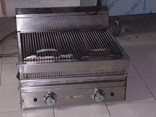 BARBACOA INDUSTRIAL A GAS FONDO AGUA Grill