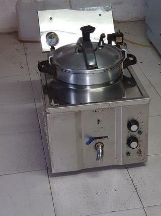 Freidora eléctrica de presión 15L