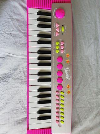 Piano eléctrico Barbie