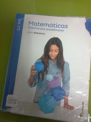 matematicas academicas 3 de la eso