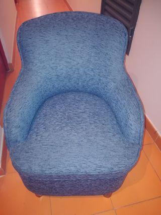 sillón abatible vintage