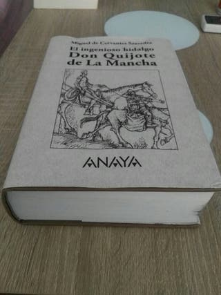 EL QUIJOTE DE EDITORIAL ANAYA. UNA JOYA. IMPECABLE